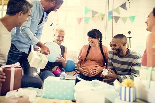 une baby shower personnalisé